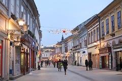 Novi Sad, Servië Stock Foto's