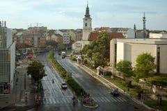 Novi Sad-Stadt Lizenzfreies Stockfoto