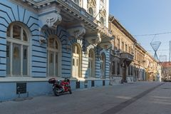 Typical Buildings at the center of the City of Novi Sad, Vojvodina, Serbia