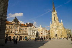 Novi Sad, Vojvodina, Serbia. Is the third largest city in Serbia, the administrative seat of the province of Vojvodina and of the South Bačka District. It is Royalty Free Stock Photography