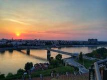 Novi SadSerbia Europa royalty-vrije stock fotografie