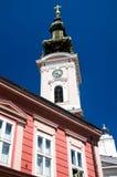 Novi traurig - orthodoxe Kathedrale des Heiligen George Lizenzfreies Stockbild