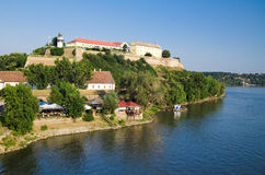 Novi triste - fortezza di Petrovaradin immagini stock libere da diritti