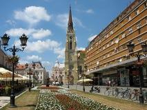 Novi triste, Serbia Imagenes de archivo