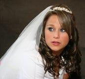 Novia antes de Wedding Imagen de archivo libre de regalías