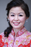Novia asiática foto de archivo libre de regalías