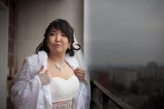 Novia bastante asiática Imágenes de archivo libres de regalías