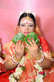 Novia bengalí Fotos de archivo libres de regalías