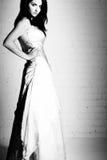 Novia blanco y negro Imagen de archivo