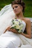 Novia con el ramo de la boda. #5 Foto de archivo libre de regalías