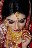 Novia de Bangladesh Foto de archivo libre de regalías