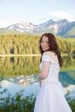 Novia de la montaña Fotos de archivo