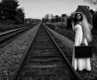 Novia del fugitivo Fotografía de archivo