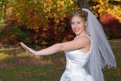 Novia del otoño Fotografía de archivo libre de regalías