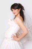 Novia embarazada Imagenes de archivo