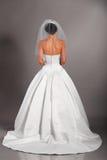 Novia en alineada de boda fotografía de archivo