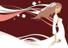 Novia hermosa libre illustration