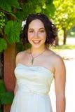 Novia hermosa el día de boda Foto de archivo