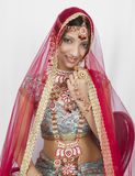 Novia india foto de archivo