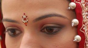 Novia india Imágenes de archivo libres de regalías