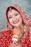 Novia india foto de archivo libre de regalías