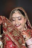 Novia india fotos de archivo