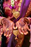 Novia india Fotos de archivo libres de regalías