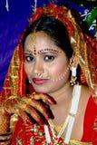 Novia india tradicional Foto de archivo
