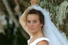 Novia joven hermosa Fotografía de archivo libre de regalías