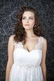 Novia profesional del peinado del maquillaje fotografía de archivo