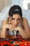 Novia que espera amado Foto de archivo libre de regalías
