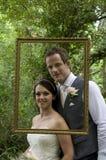 Novia y novio Fotografía de archivo libre de regalías
