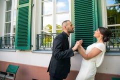Novia y novio Marriage Concept Imágenes de archivo libres de regalías