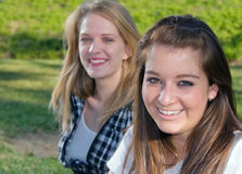 Novias adolescentes Imagen de archivo libre de regalías