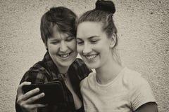 Novias felices Imagen de archivo libre de regalías