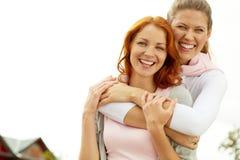 Novias felices Foto de archivo libre de regalías