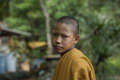 Novice face. Thaiboy royalty free stock photo