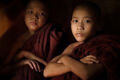 Novice monk Royalty Free Stock Photos