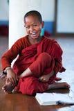 Novice monk, Myanmar Stock Photography