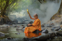 Novice Monk Royalty Free Stock Images