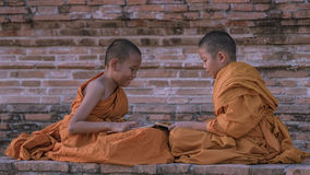 Novice monk Stock Photography