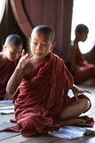 Novice monks, Myanmar Stock Photography