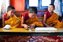 Novice monks, Nepal Royalty Free Stock Image