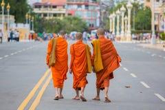 Novice Monks Stock Image