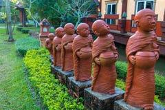 Novices de statue Photographie stock