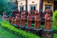 Novices de statue de la Thaïlande Image libre de droits