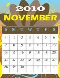 Noviembre de 2010 Imágenes de archivo libres de regalías