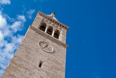 Novigrad, bell towe Royalty Free Stock Photos