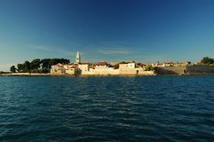 Novigrad city wall Royalty Free Stock Images