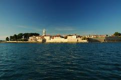 Novigrad city wall. Novigrad from sea Royalty Free Stock Images